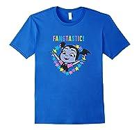 Disney Vampirina Fangtastic T Shirt Royal Blue