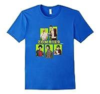 Disney Zombies Zomb5 T Shirt Royal Blue