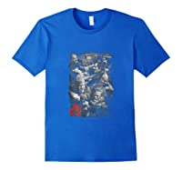 Sons Of Anarchy Group Fight Tank Top Shirts Royal Blue