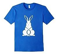 Q Rabbit Qanon Wwg1wga Bunny T Shirt Royal Blue
