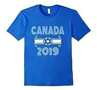Retro Canada Soccer Team 2019 Shirts Royal Blue