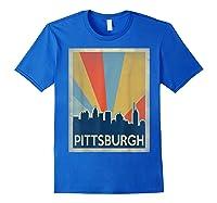 Classic Pittsburgh Shirts Royal Blue