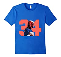 Uncle Drew Big Fella 34 Shirts Royal Blue