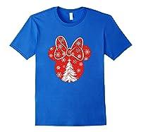 Disney Minnie Tree T Shirt Royal Blue