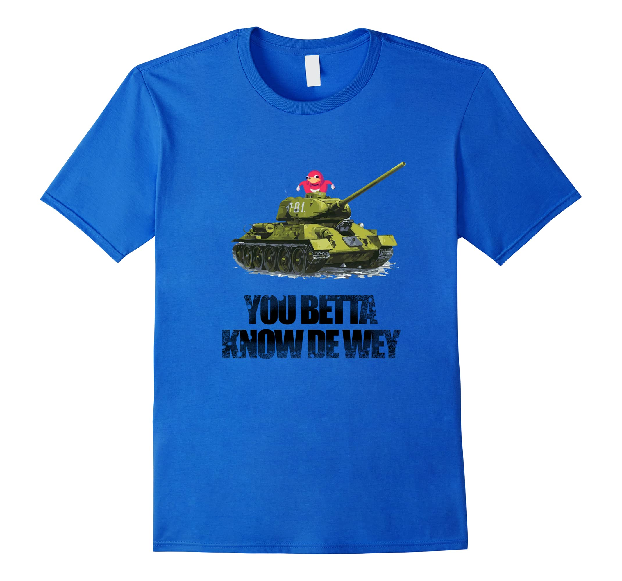 Meme Ugandan Warrior VR Tank