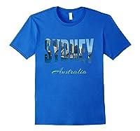 Sydney Australia Shirt Royal Blue