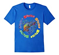 Chameleon Karma 80 S Pride 1980 S Pop Club Culture Peace Shirts Royal Blue