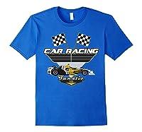 Car Racing Fanatic 500 Miles T Shirt Car Lover Gift Royal Blue