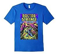 Doctor Strange Mystic Arts Neon Graphic Shirts Royal Blue