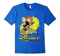 Disney Kim Possible T Shirt Royal Blue