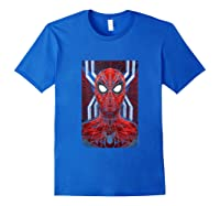 Marvel Spider-man: Far From Home Spidey Tank Top Shirts Royal Blue