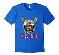 Skol Viking Shirts Royal Blue