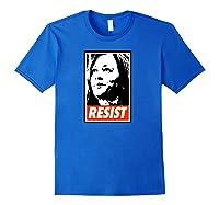 Kamala Resist Shirts Royal Blue