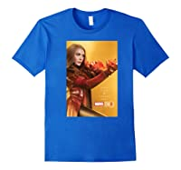 Studios 10 Years Scarlet Witch Poster Shirts Royal Blue