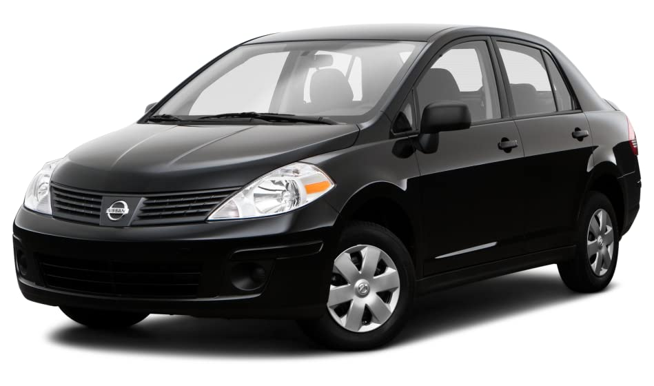 2011 nissan versa hatchback tire size
