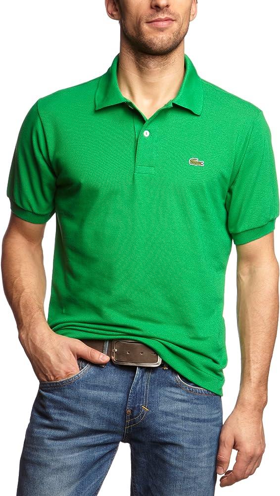 Lacoste polo,maglietta per uomo maniche corte,100% cotone L1212-00