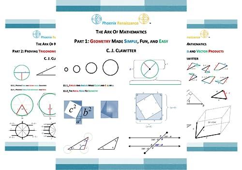 THE ARK OF MATHEMATICS (5 Book Series)