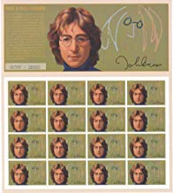 John Lennon, Beatles Limited Edition Collectible Postage Stamps Mali 722
