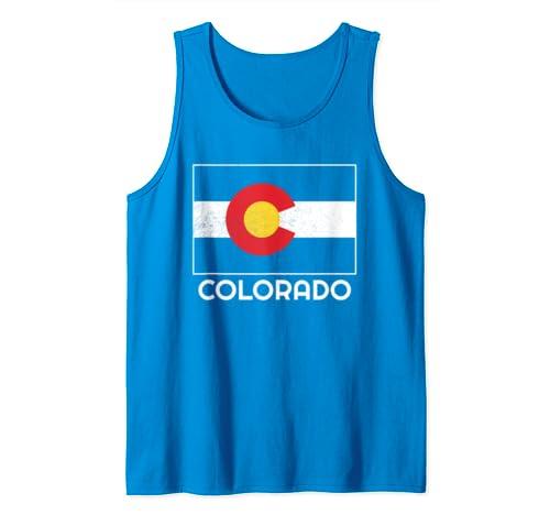 Colorado State Flag Tank Top