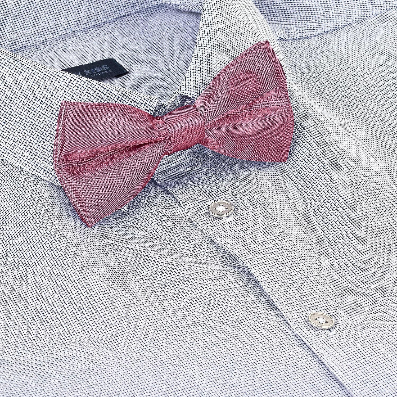 BomGuard disponible en varios colores Lazo para ni/ños pajarita ajustable