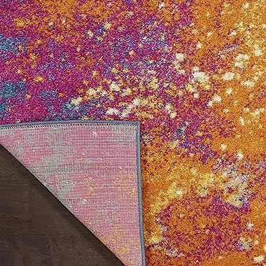 Nourison Passion Bohemian Abstract Sunburst 8' x 10' Area Rug, (8' x 10')