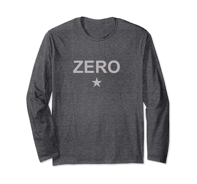 Zero Star Mens Pumkin Smashing Vintage Retro Gifts Long Sleeve T-Shirt