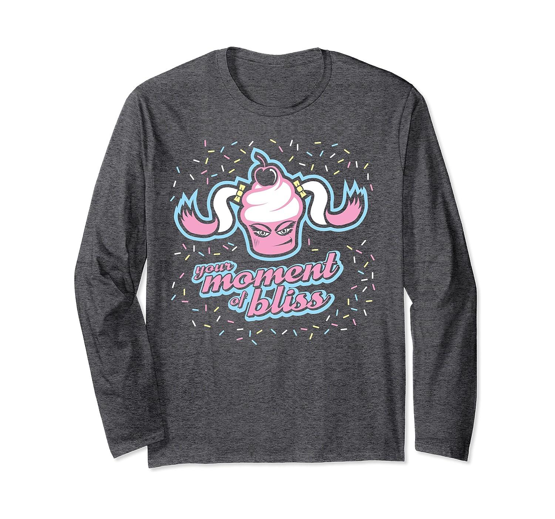 WWE Alexa Bliss Cupcake Graphic Langarmshirt