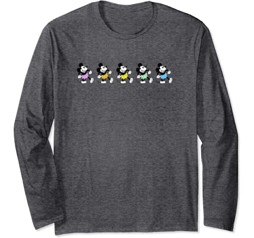 Disney Mickey And Friends Neon Pants Mickey Mouse Long Sleeve T Shirt