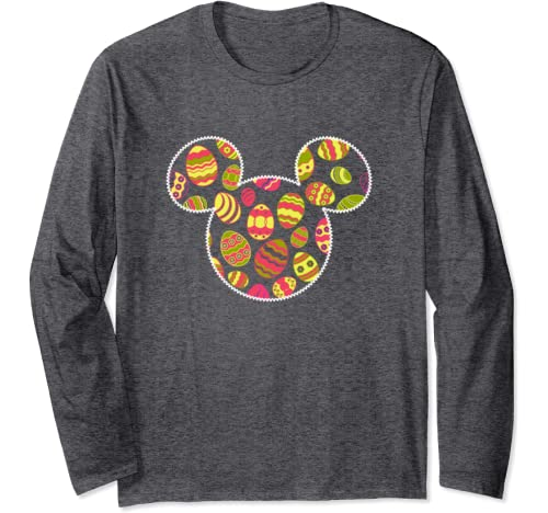 Disney Mickey And Friends Mickey Mouse Easter Egg Fill Long Sleeve T Shirt