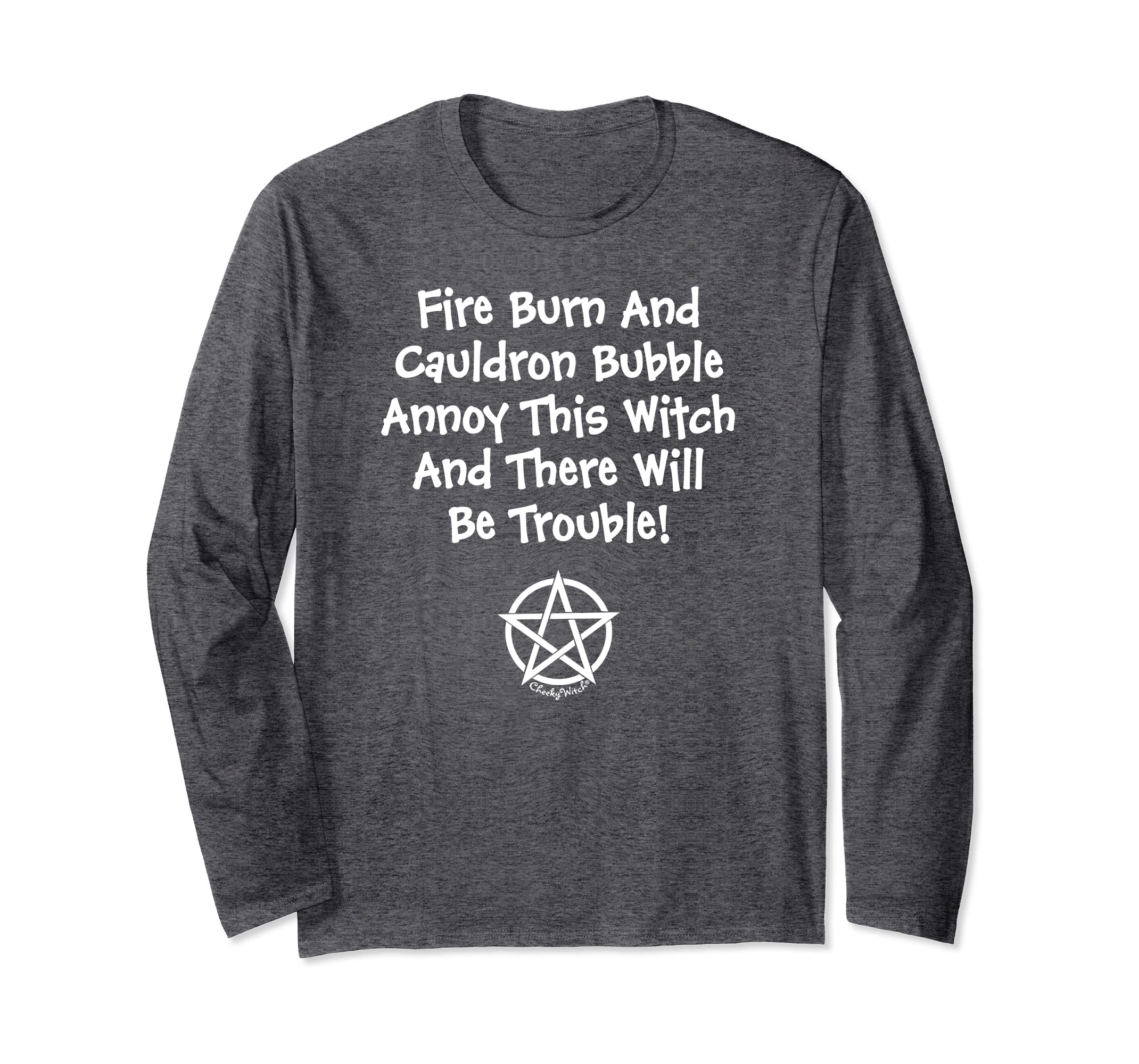 Don't Annoy This Witch Wiccan Halloween Cheeky Witch Shirt-Veotee