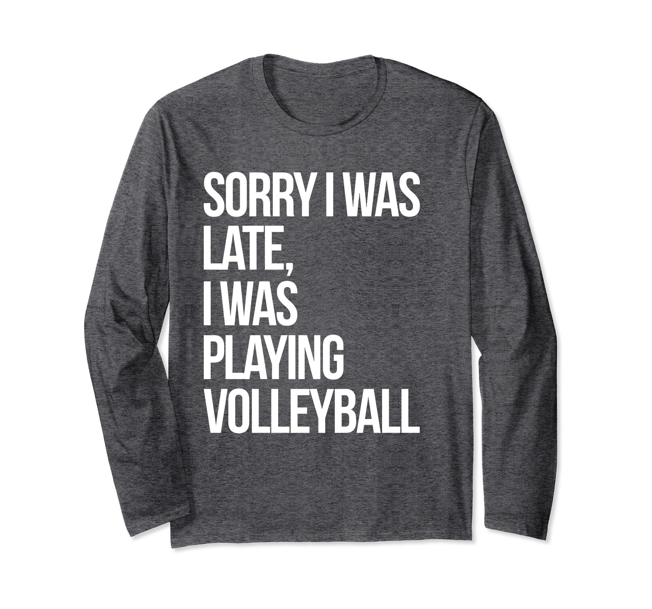 Cute College Volleyball Long Sleeve Shirt For Teen Girls-ln