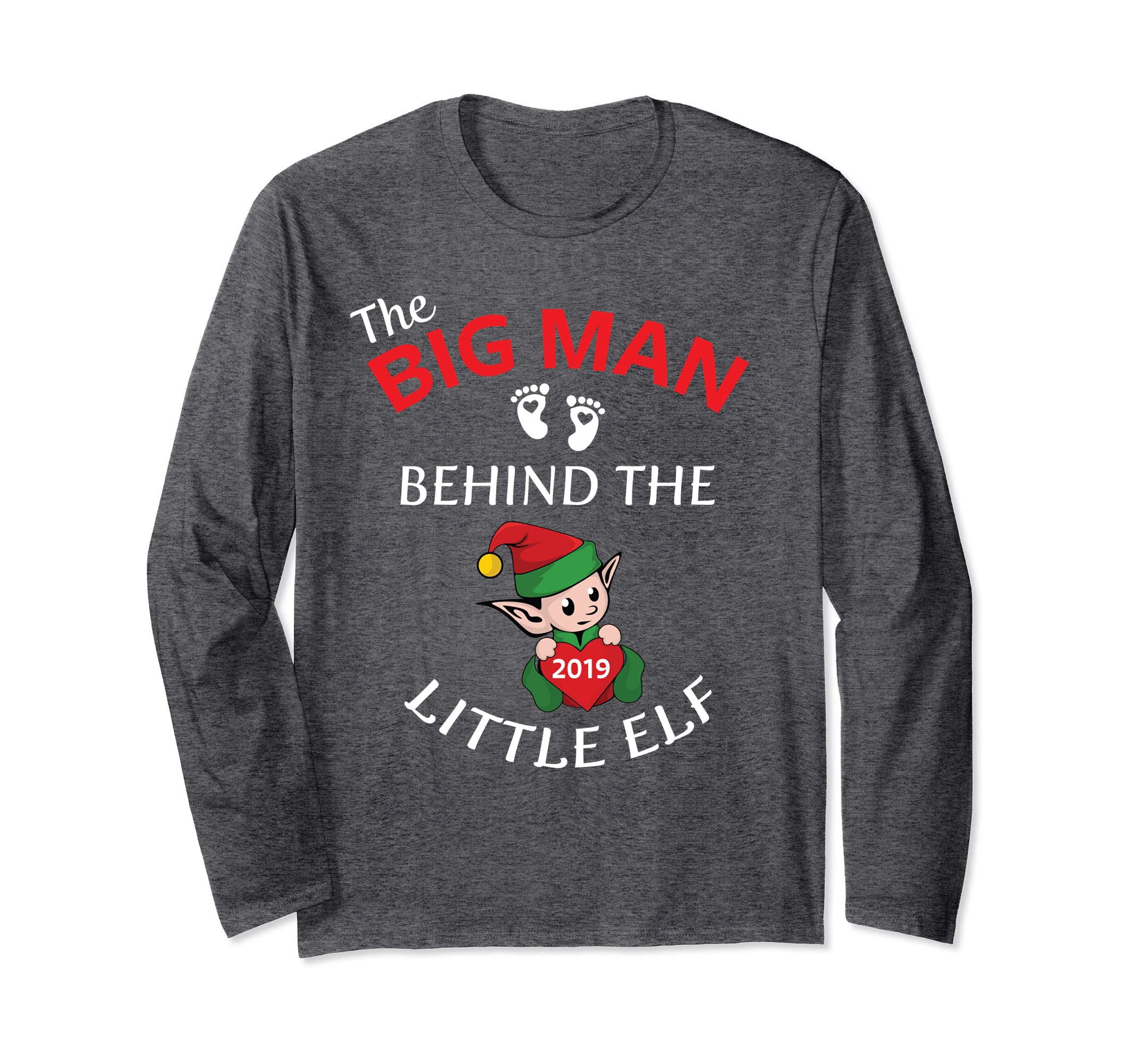 2019 Funny Couples Christmas Baby Reveal Long Sleeve Shirt-SFL