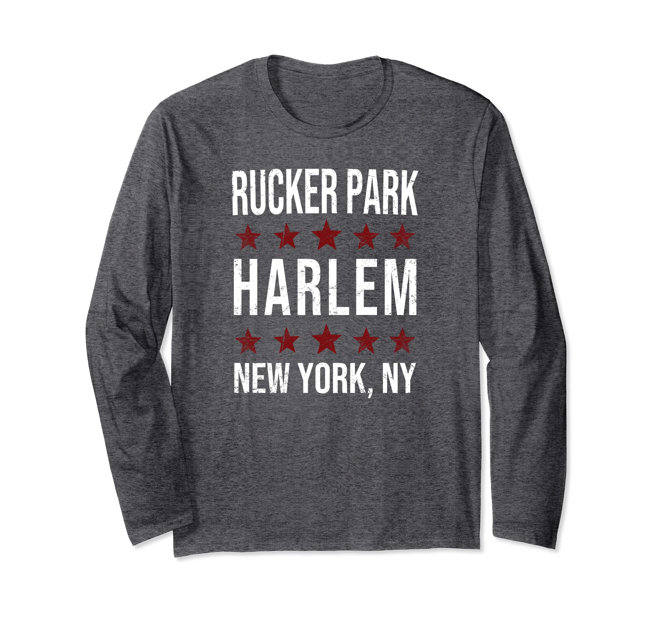 2decbd65668 Amazon.com: Rucker Park Basketball Harlem NY Retro Throwback Shirt: Clothing