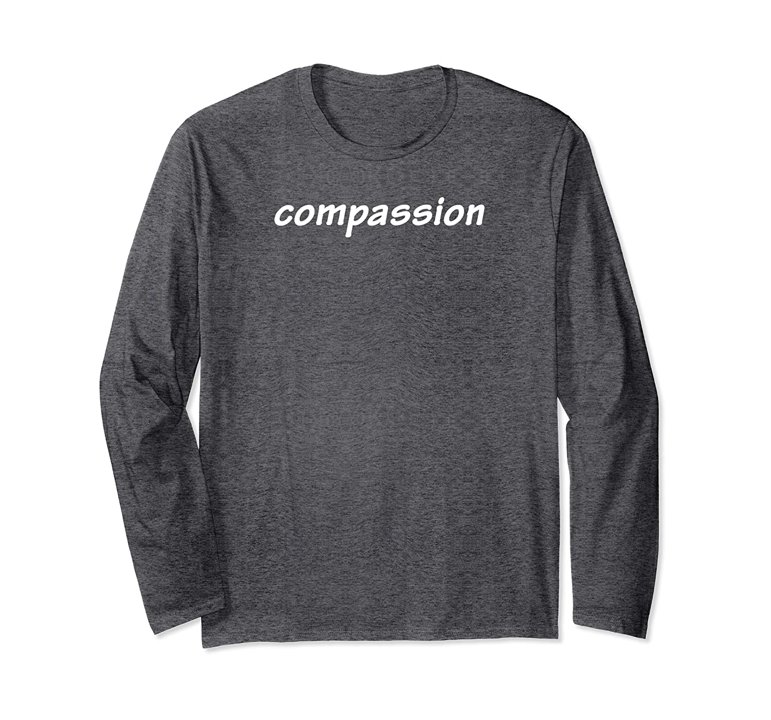 Compassion Buddhist Long Sleeve T-Shirt-ANZ