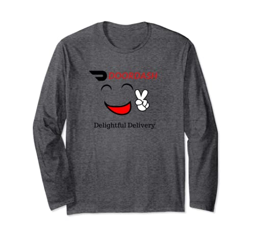 Doordash Delivery Driver Long Sleeve T Shirt