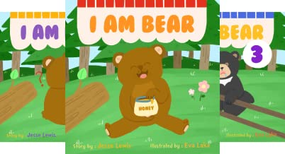 I Love bear (4 Book Series)