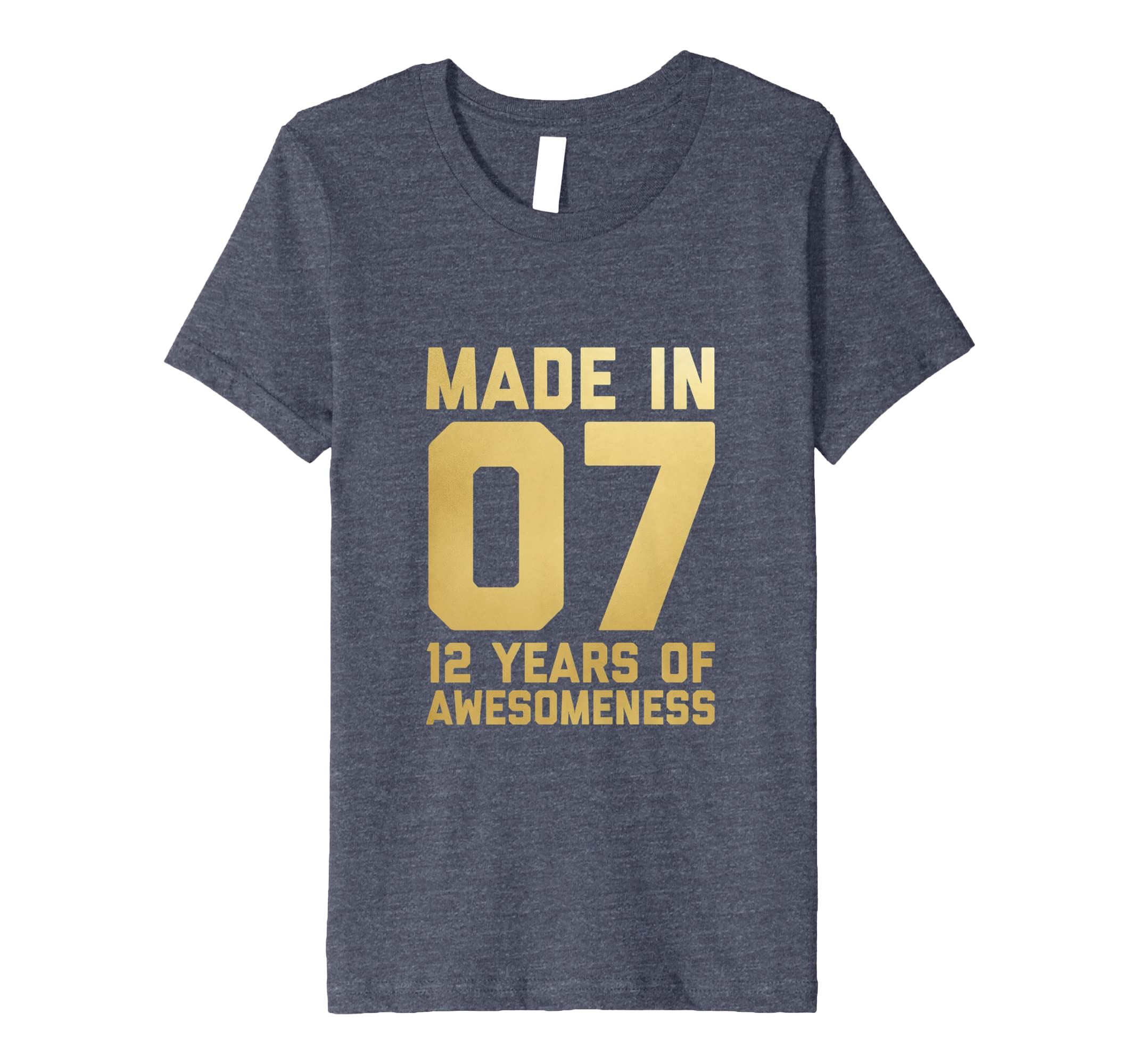 Amazon 12th Birthday Shirt Boy Age Twelve Kids 12 Year Old Gift Son Clothing
