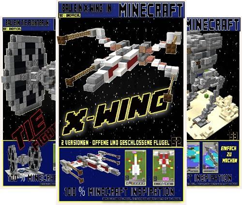 Minecraft Star Wars Bauplan (Reihe in 3 Bänden)