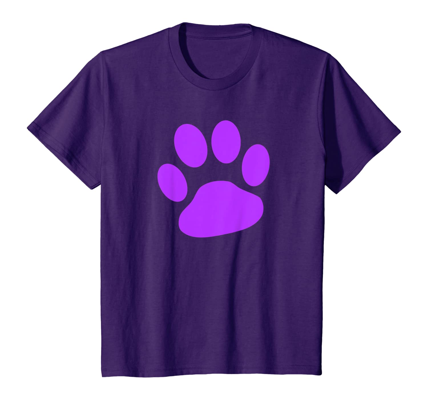 Amazon Com Purple Paw Print T Shirt Clothing Here you can explore hq paw print transparent illustrations, icons and clipart with filter setting like size, type, color etc. amazon com