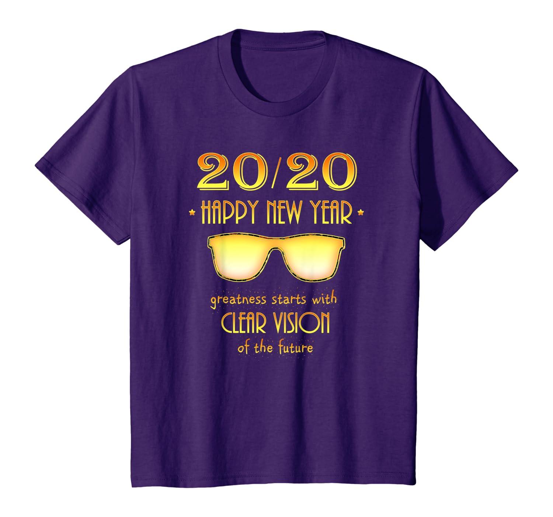 2020 New Years Shirt – 20/20 Vision – Happy New Year 2020 T-Shirt