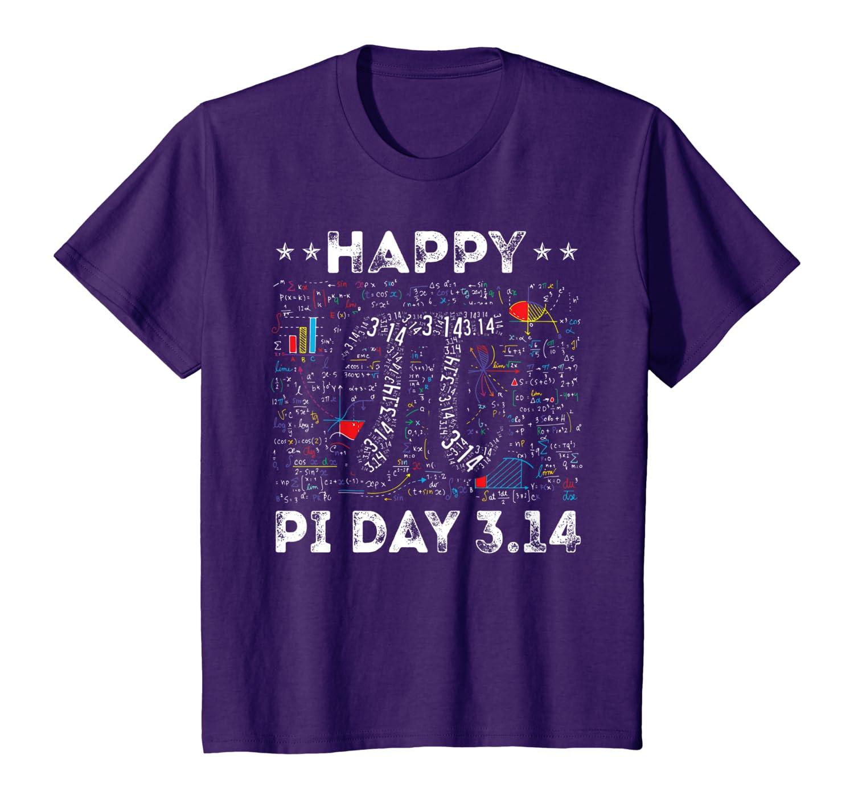 Funny Happy Pi Day 3.14 T-Shirt Teachers Math Equation Gift T-Shirt