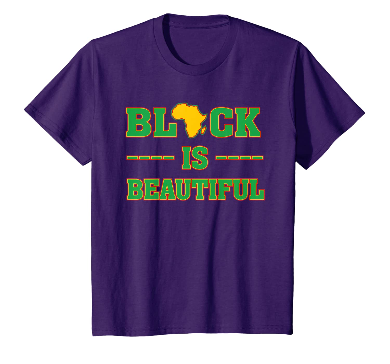 Black is Beautiful – Africa – African American History Month T-Shirt