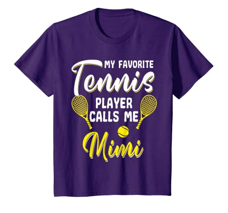 Amazon.com: Funny Tennis T Shirt Player Hobby Racquet Mimi ...