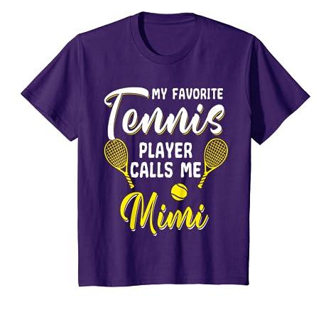 Amazon.com: Funny Tennis T Shirt Player Hobby Racquet Mimi ...