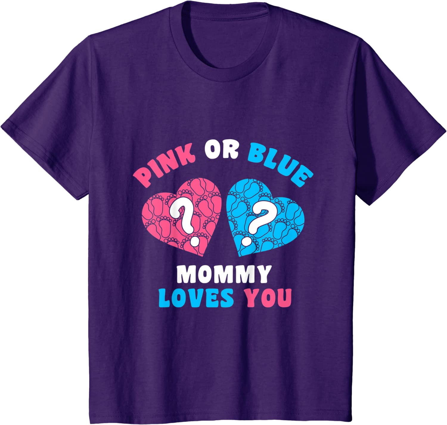 mothers day shirt mommy shirt Keeper Of The Gender Pink or Blue Mommy Loves You Women design Unisex T-Shirt mom shirt mama shirt