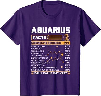 birthday gift birthday gifts sign personalized love love christmas gift birthday gift birthday shirt horoscope king Aquarius