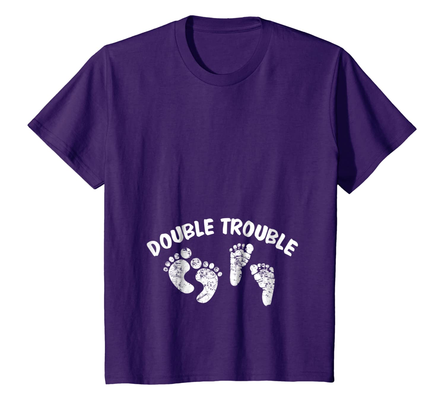 918132c2e9819 Amazon.com: Expecting Twins New Baby Pregnancy T Shirt - Double Trouble:  Clothing