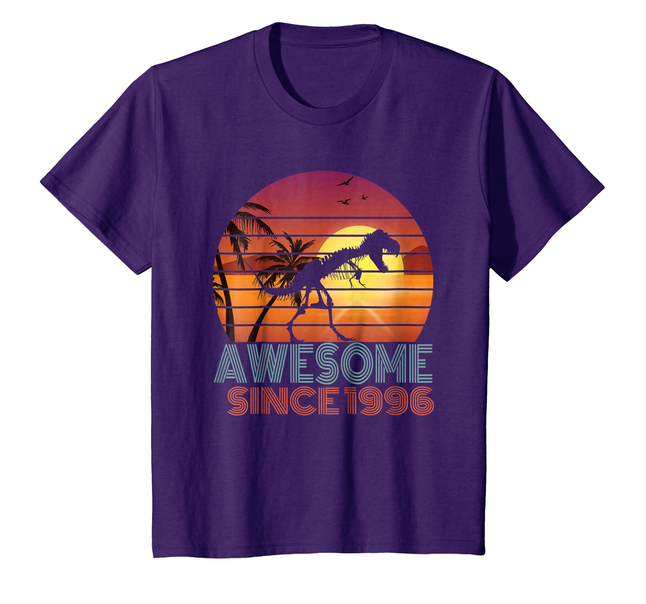 Amazon 22nd Birthday Gift Shirt Dinosaur 22 Year Old Tshirt For Boy Clothing