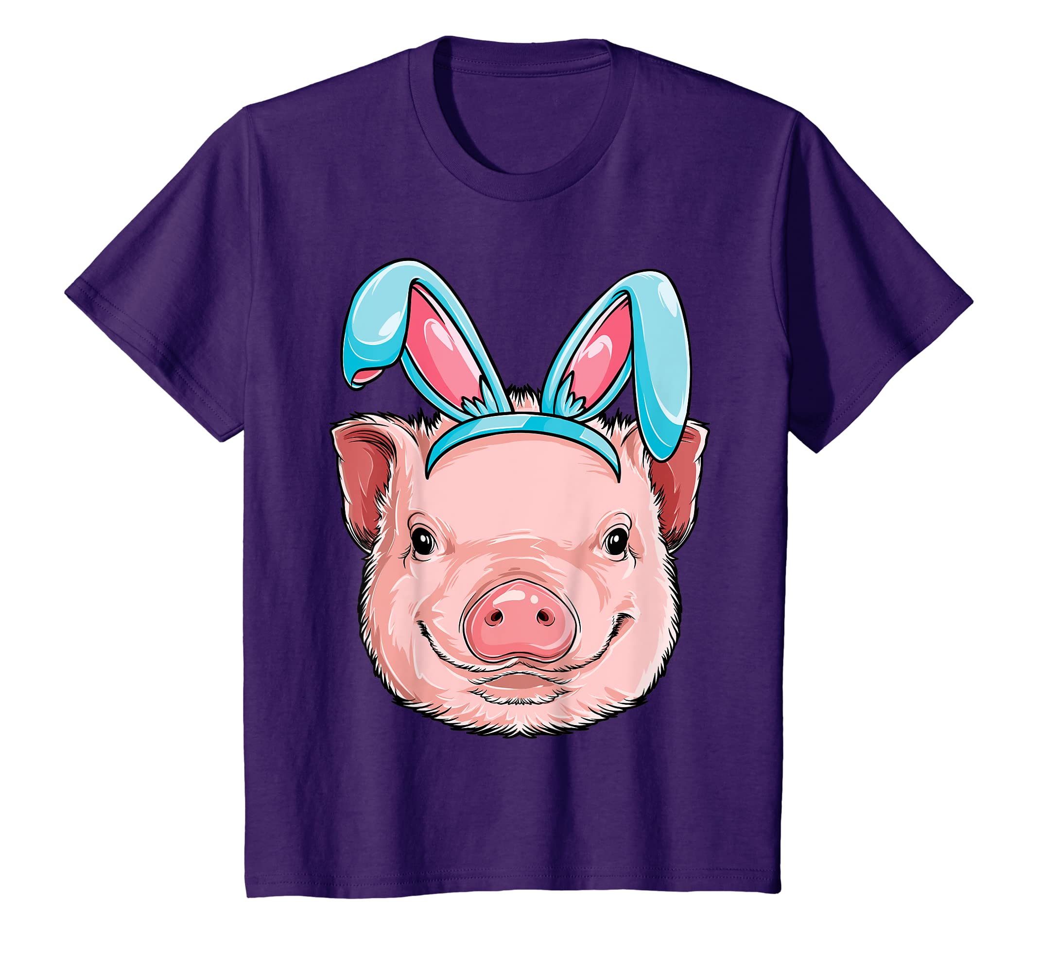46a31ad2 Amazon.com: Easter Bunny Pig T shirt Girls Boys Kids Women Funny Gifts:  Clothing