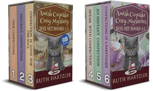 Amish Cupcake Cozy Mystery Series Boxset